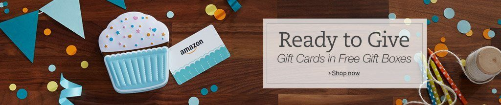 gift boxes for Amazon gift cards now free