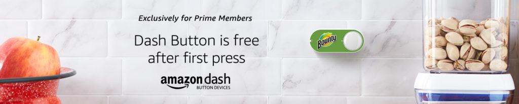 Amazon Dash Button is free