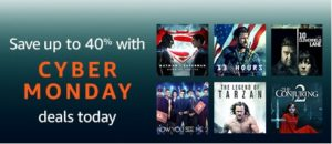 The year's best promo on the year's best movies & TV shows through Amazon's Black Friday & Cyber Monday deals week