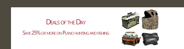 Spring promos for Plano hunting and fishing accessories Amazon