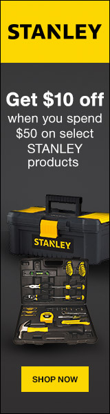 $10 off $50 promo on select STANLEY