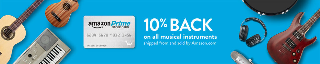 extra 10% in addition to 5% on all music instruments