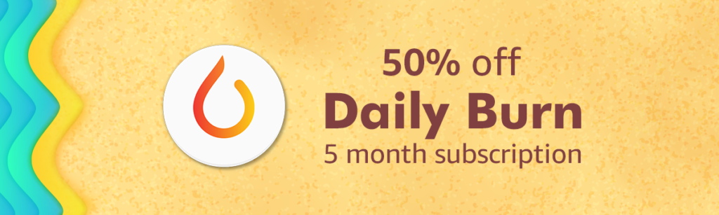 Summer promo on Daily Burn with Amazon Coins