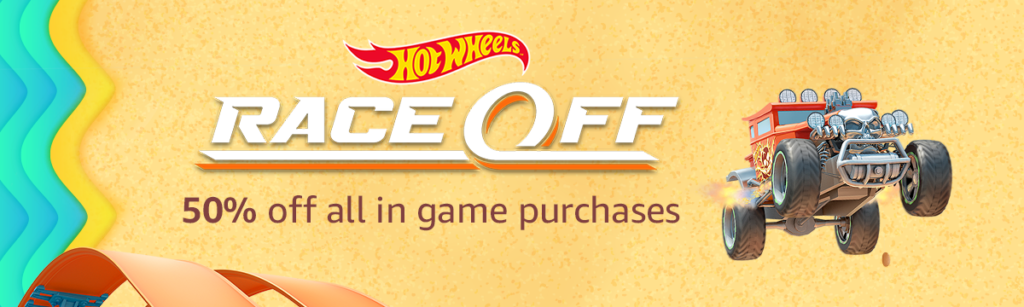 Summer promo on Hot Wheels: Race Off with Amazon Coins