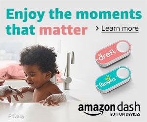 Amazon Dash Button New Brand Launch