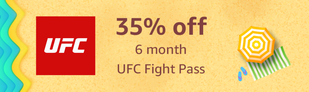 Summer promo on UFC Flight Pass with Amazon Coins