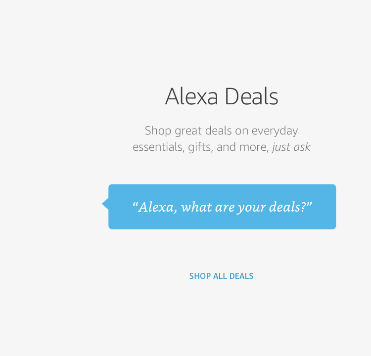 Free $10 Amazon Credit on first reorder with Alexa