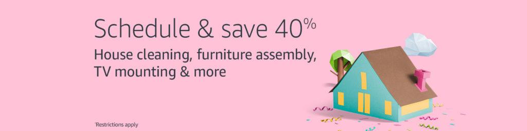 40% off Amazon Home Service