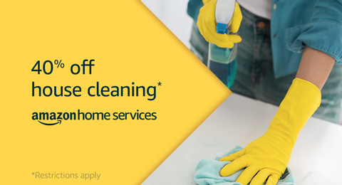 Extra 40% off Amazon Home Service