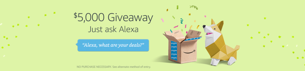 $5,000 Amazon Sweepstakes