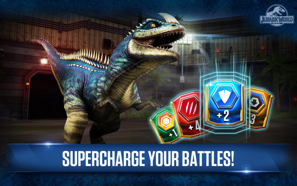 The in-game savings with Amazon Coins on purchase of Jurassic World: The Game