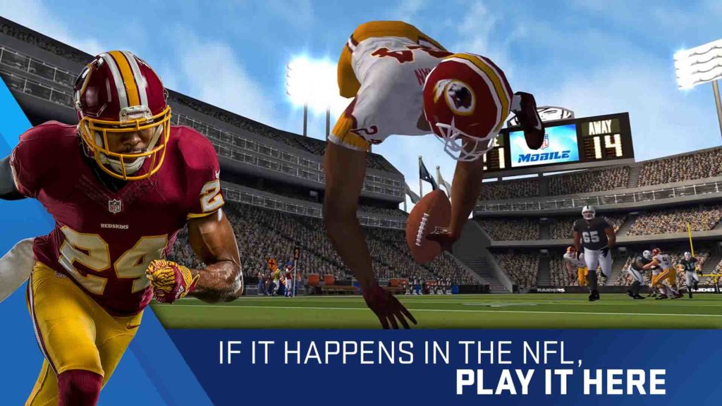 Gain experience in winning Amazon Coins on Madden NFL Football