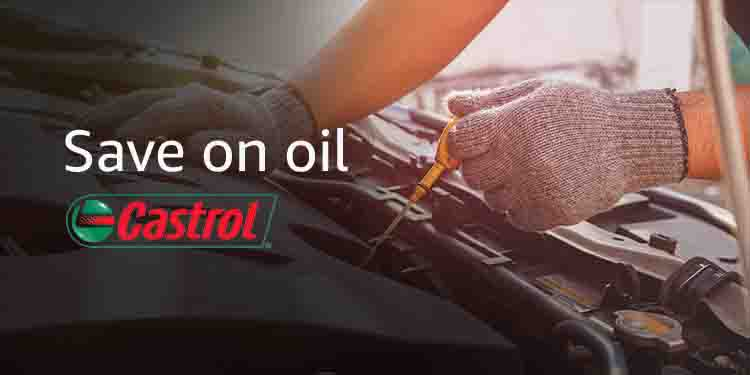Oil Month promo, Amazon deals on oil, oil filters