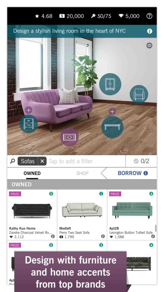 Design Home with Amazon Coins