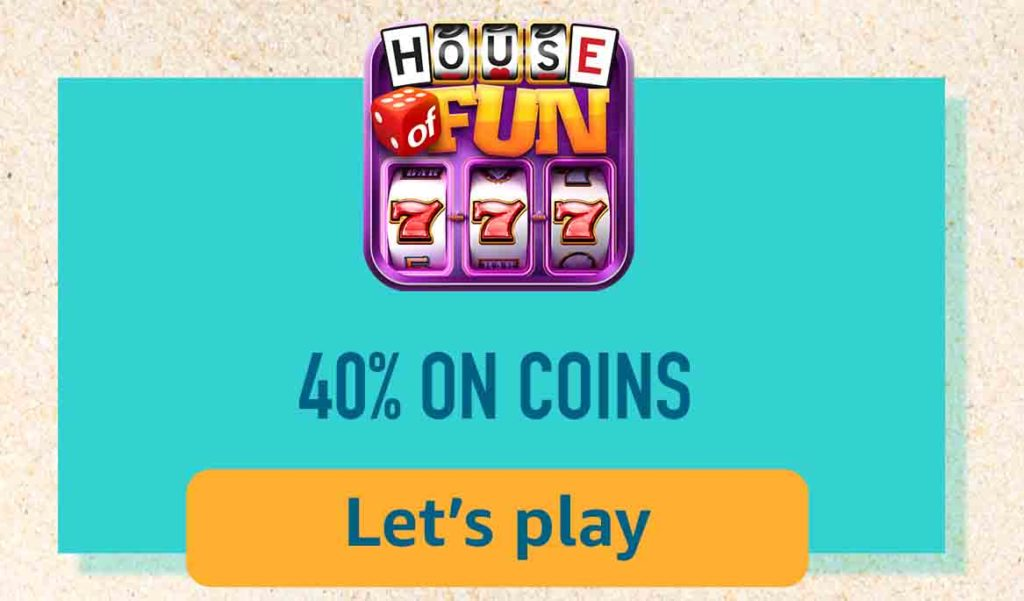 House of  Fun - Vegas Casino Free Slots with Amazon Coins