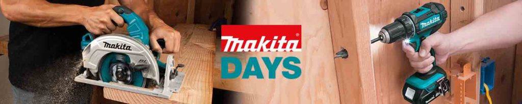 Up to 50% off Makita Promo Days at Amazon.com