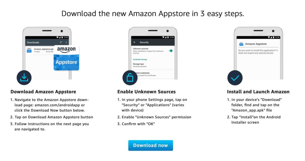 download the all new Amazon Appstore