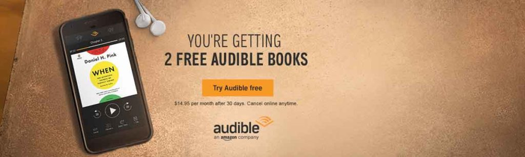 Promos stand chance when joining Amazon Audible