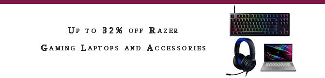 Razer Gaming Laptops and Accessories