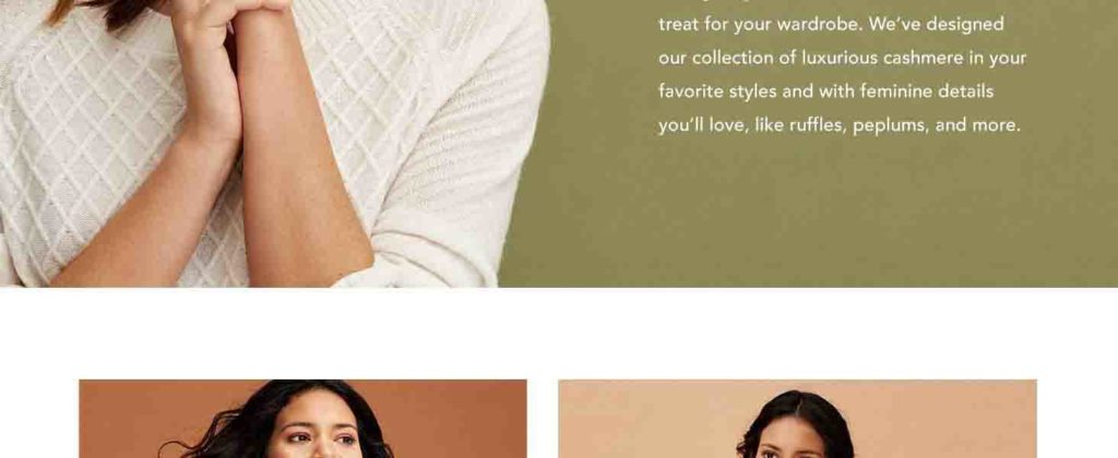 30% off holiday promo for Lark & Ro cashmere Amazon