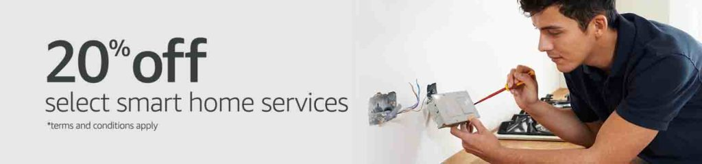 Extra 20% off Amazon Home Service