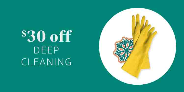 $30 off Deep Cleaning at Amazon Home Service