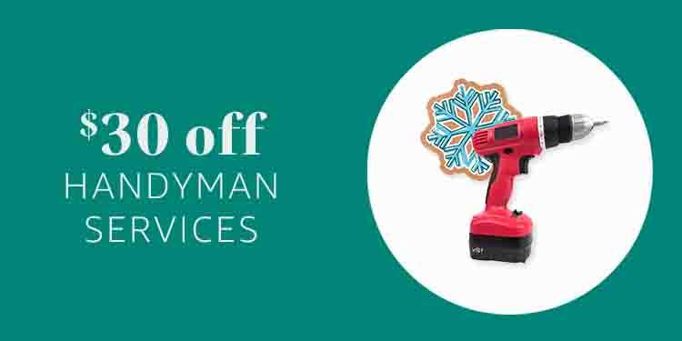 $30 off handyman at Amazon Home Service