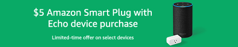 Smart Plug on $5 monthly promo with Amazon Echo Devices