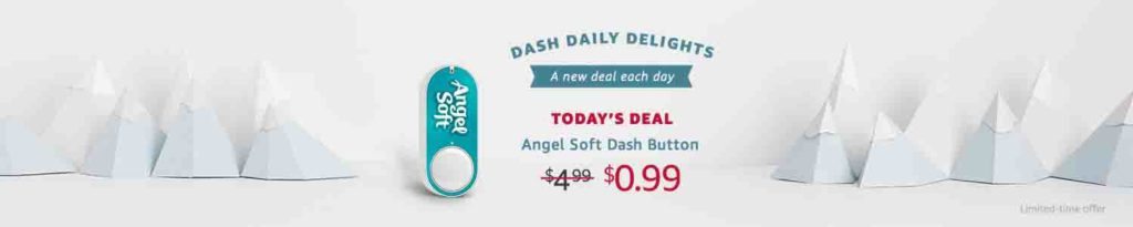 Amazon Dash Button promo code