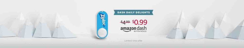 Amazon Dash Button daily promo