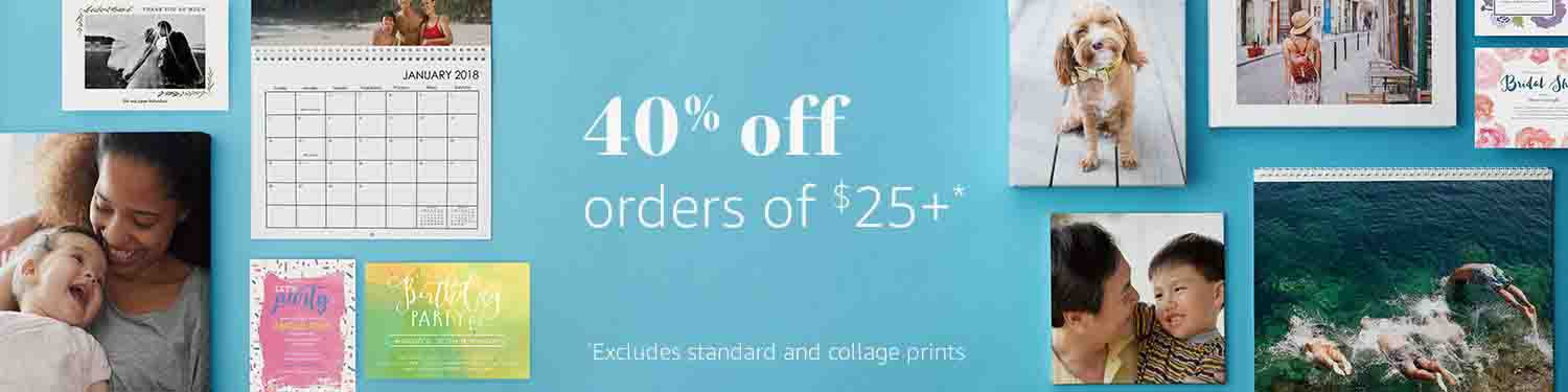Four Promo Codes for Amazon Prints, offering – Always Promo Off
