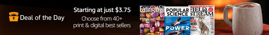 best-selling magazines from $3.75