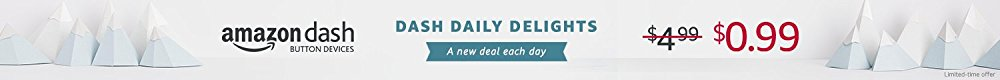 Amazon Dash Button daily delightful promo at $0.99