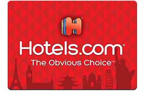 Extra $7.5 off promo code 'HOTELS' for Hotels.com Gift Cards
