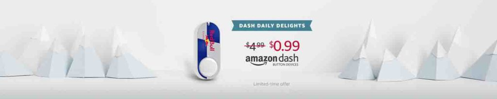 Amazon Dash Button daily delightful promo