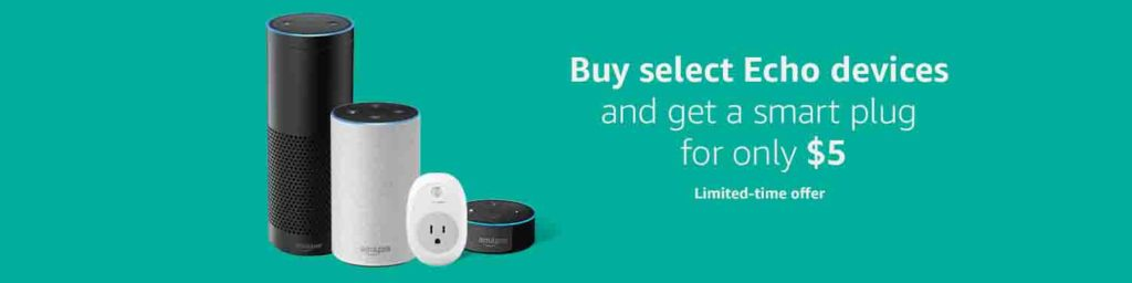TP-Link Smart Plug on $5 month with Amazon Echo Devices