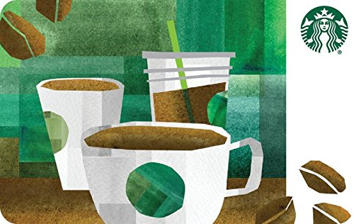 $5 off $50 promo code 'COFFEE' for Starbucks Gift Cards
