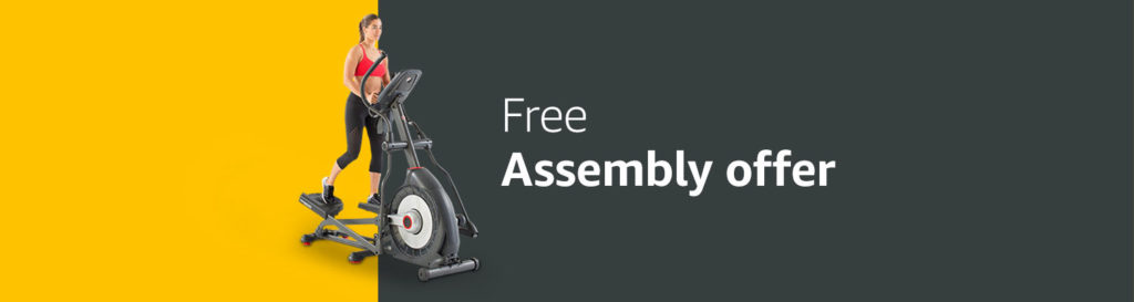 Amazon Home Service free assembly with purchase of treadmills/ellipticals/exercise bikes