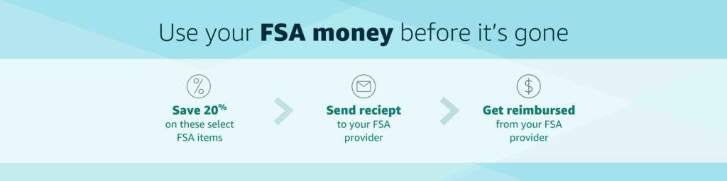 20% off promo for FSA items at Amazon.com