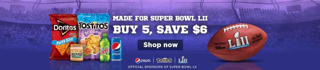 Amazon Prime Member get extra $6 savings on spending of 5 Pepsi products