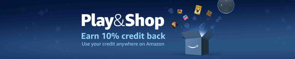 Extra 10% back Amazon Coins