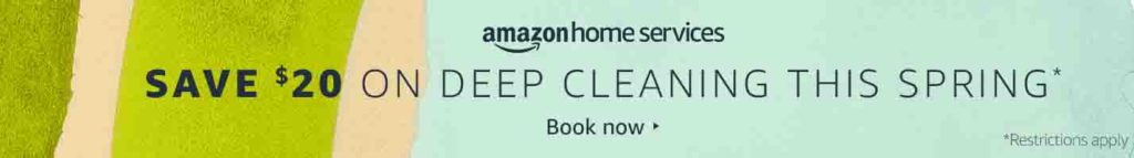$20 off promo for Amazon Home Service