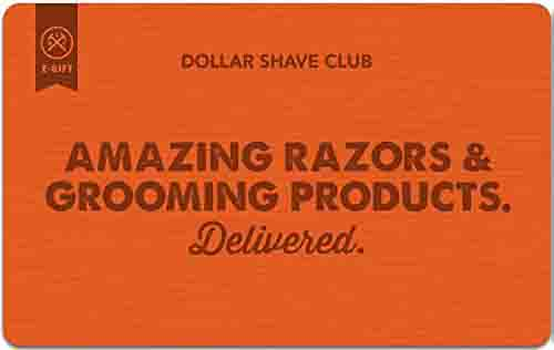 "promo code ""DOLLAR' for extra $10 off Dollar Shave Club Gift Cards"