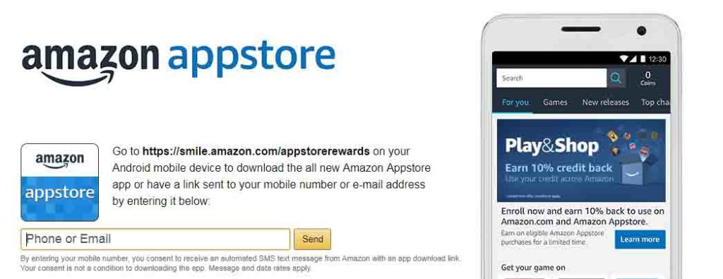 Extra 10% back when purchase through the all new Amazon Appstore