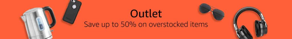 Amazon outlet store overstock deals