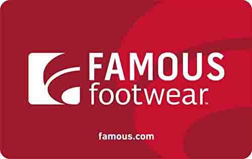 promo code 'FAMOUS'