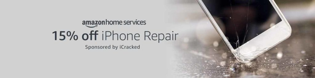 15% off iPhone screen repair