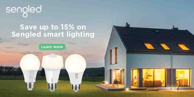 15% off promo event for Sengled smart light bulbs by Amazon