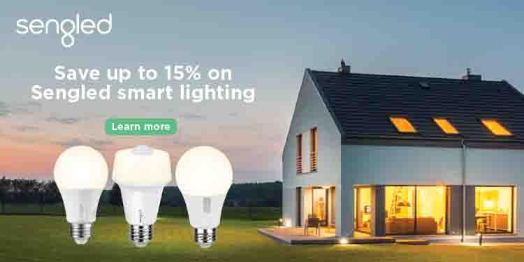 15% off promo event for Sengled smart light bulbs Amazon