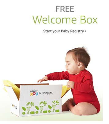 get a free welcome box for your BaRegistry